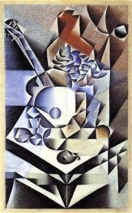 Gris, still life with flowers, 1912