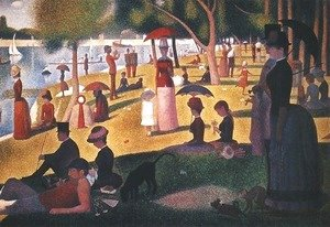 Seurat Sunday-On-La-Grande-Jatte
