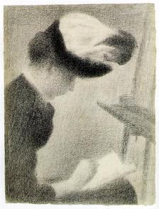Seurat -woman-seated-by-an-easel-1888.jpg!HalfHD